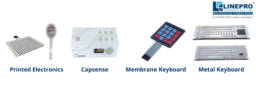 Linepro Controls is worldwide provider of  Membrane Membrane, Printed Electronics, Metal Keyboard and Capsense